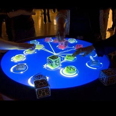互动桌 圆形互动桌