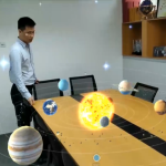 AR太阳系